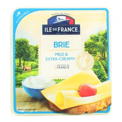 إيل دو فرانس – شرائح جبن  بري بالكريمة الخفيفة & اكسترا 150 جم