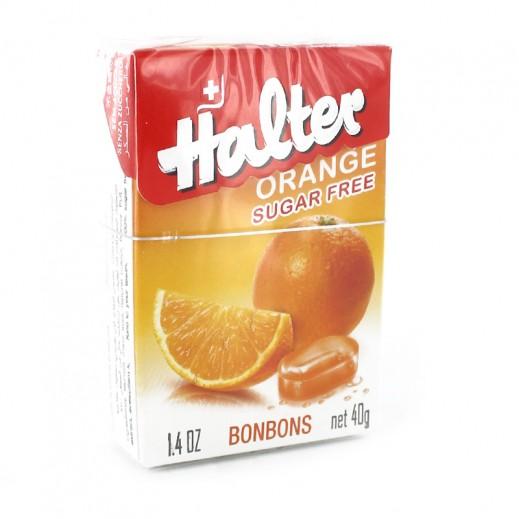 هالتر - بونبون بطعم البرتقال 40 جم