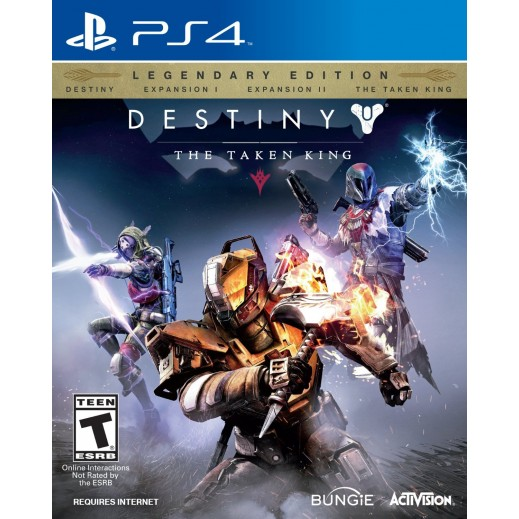 لعبة DESTINY: THE TAKEN KING LEGENDARY EDITION لجهاز PS4 - نظام  NTSC