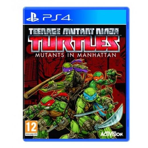 لعبة TEENAGE MUTANT NINJA TURTLES: MUTANTS IN MANHATTAN لجهاز PS4 نظام PAL