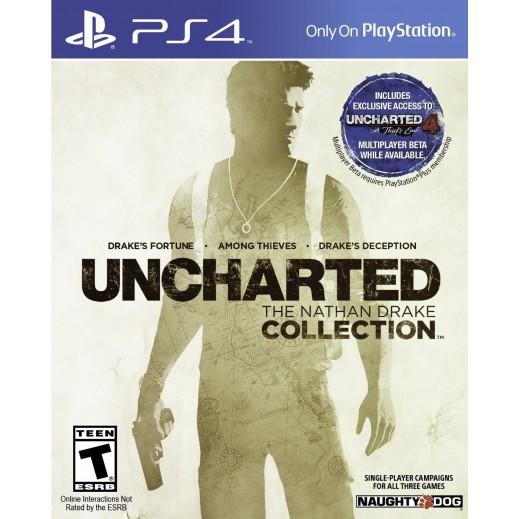 لعبة UNCHARTED: THE NATHAN DRAKE COLLECTION لاجهزة PS4 - نظام NTSC