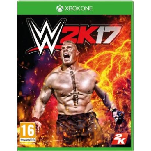 لعبة WWE 2K17 لجهاز اكس بوكس ون - نظام PAL (عربي)