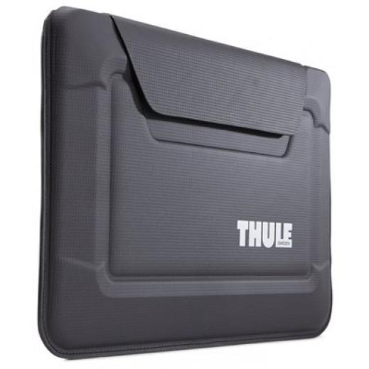 ثولي - حقيبة مغلف GAUNTLET 3.0 لماك بوك AIR حجم 11 بوصة – أسود
