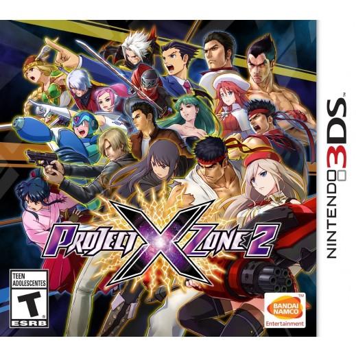 لعبة Project X Zone 2  لنينتندو 3DS- NTSC