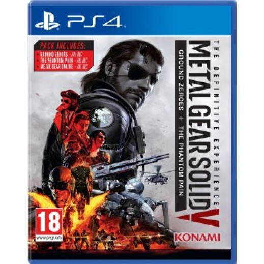 لعبة METAL GEAR SOLID V: THE DEFINITIVE EXPERIENCE لجهاز PS4 نظام PAL