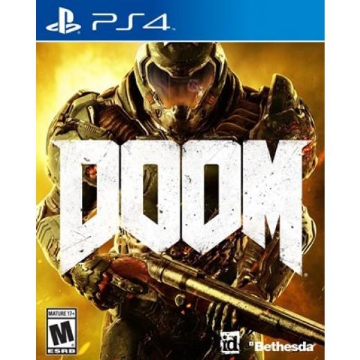 لعبة Doom لأجهزة PS4 – نظام NTSC