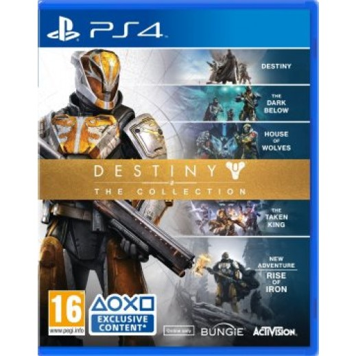 لعبة DESTINY THE COLLECTION لجهاز PS4 نظام PAL