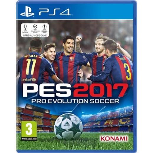 لعبة Pro Evolution Soccer 2017 لأجهزة PS4 (عربي) – PAL