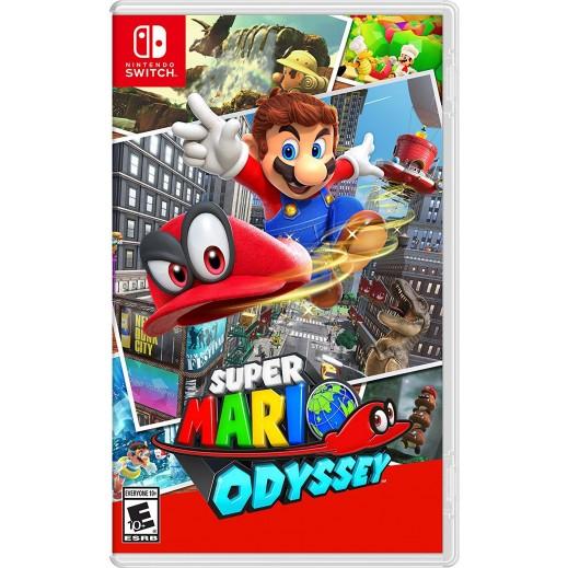 لعبة Super Mario Odyssey لنينتندو سويتش – NTSC