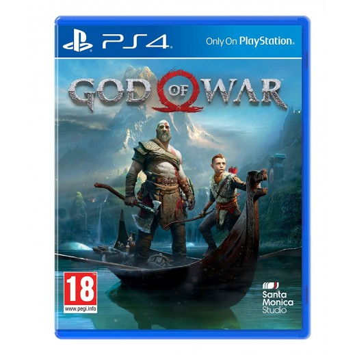 لعبة God of War لجهاز PS4 نظامPAL