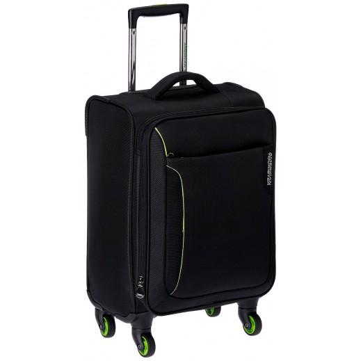 """أميريكان تورستر – حقيبة سفر """"أبلايت"""" 55 سم  – أسود مع أخضر"""