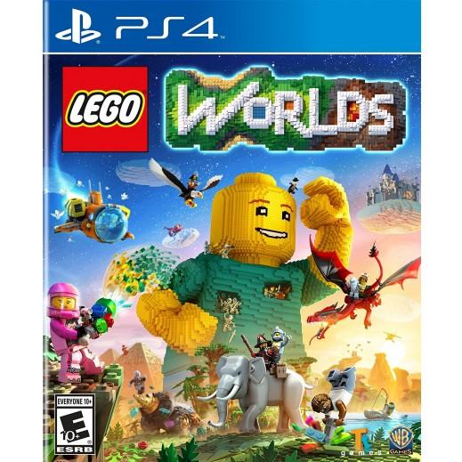 لعبة LEGO WORLDS لجهاز PS4 نظام NTSC 