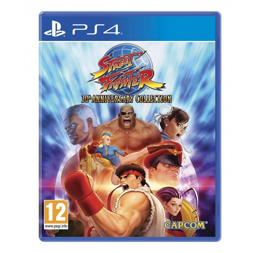 لعبة Street Fighter 30th Anniversary Collection لبلاي ستيشن 4 – نظام PAL