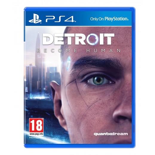لعبة Detroit: Become Human لجهاز بلاي ستيشن 4 – نظام PAL