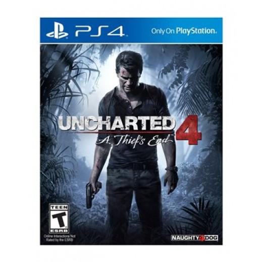 لعبة Uncharted 4: A Thiefs End لأجهزة PS4 – نظام NTSC