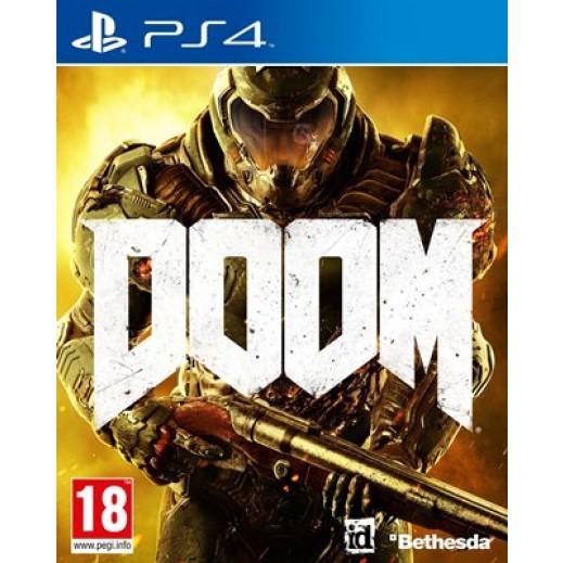 لعبة Doom لأجهزة PS4 – نظام PAL