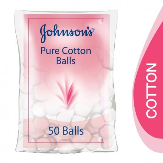 جونسون - كرات قطنية لتنظيف الأطفال 50 حبة