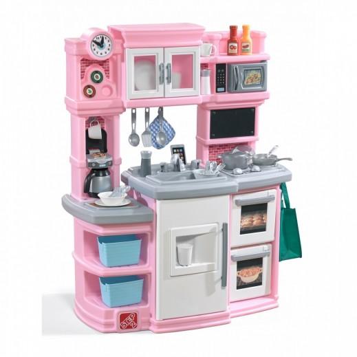 ستيب 2 - مطبخ خبراء التذوق للأطفال - وردي  - يتم التوصيل بواسطة شهاليل بعد 3 أيام عمل