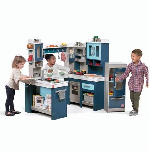 ستيب 2 - مطبخ الأطفال الضخم - يتم التوصيل بواسطة شهاليل بعد 3 أيام عمل