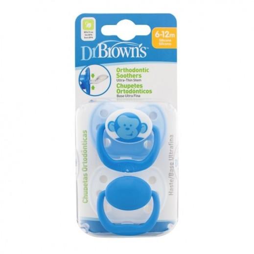 دكتور براونز – لهايات أورثو المرحلة 2 (6-12 أشهر) 2 حبة – أزرق