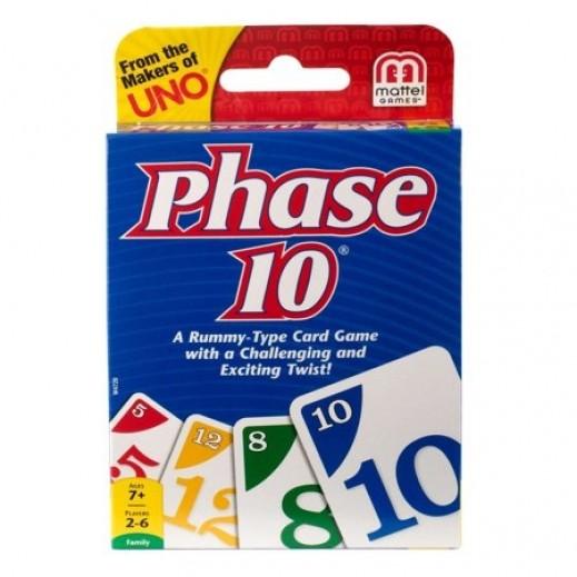 لعبة Phase 10 الورقية