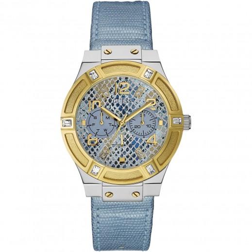 """جيس - """"جيت سيتير"""" ساعة يد للنساء، حزام من الجلد الطبيعى - يتم التوصيل بواسطة التوصيل بعد 4 أيام عمل بواسطة بيضون"""