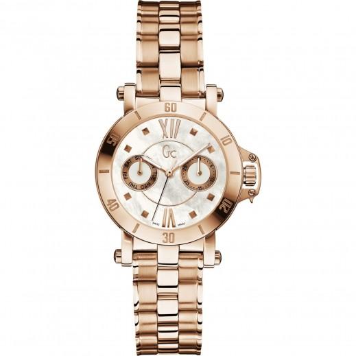 """جي سي - ساعة يد للرجال """"كرونوغراف""""، حزام من المعدن - يتم التوصيل بواسطة Beidoun"""