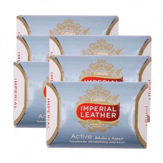 امبريال ليذر – صابونة أكتيف 175 جم (5+1 مجانا) عرض خاص