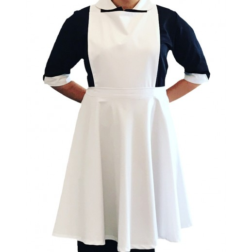 إم جي - ملابس الخادمة 300 أسود (S - XL)