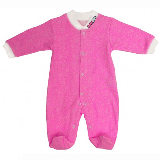 بيبي جلو – بدلة النوم الذكية للبنات (0-3 شهور) – لون وردي