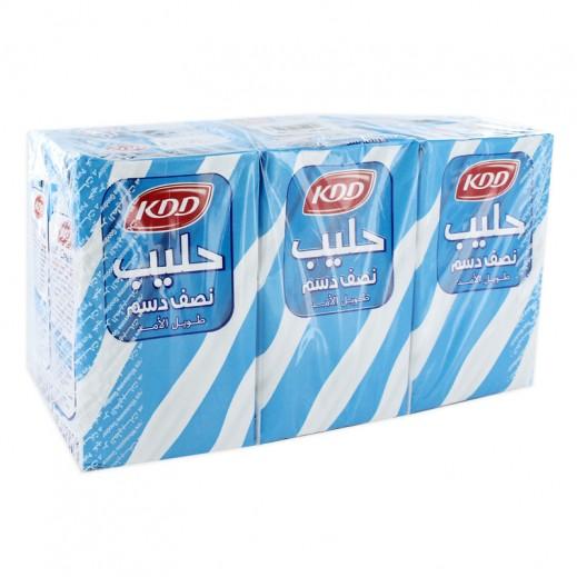 كى دى دى – حليب طويل الأمد نصف الدسم 250 مل ( 6 حبة )