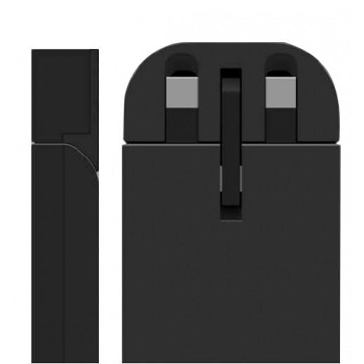 بي دي – شاحن سفر ذكي 2 منافذ USB– اسود