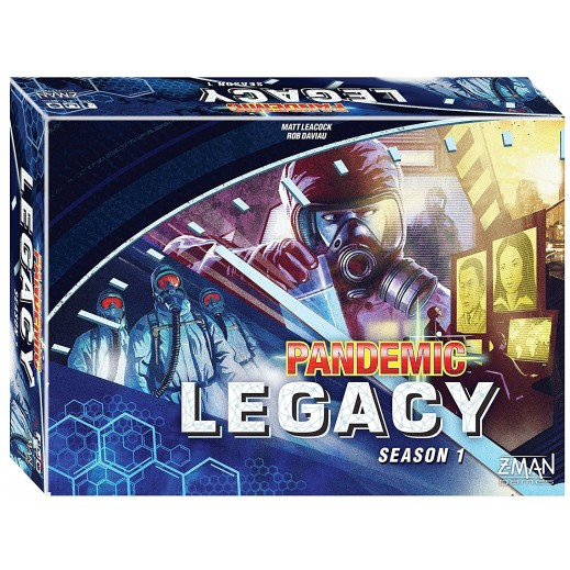 لعبة Pandemic: Legacy Season 1 - Blue Edition