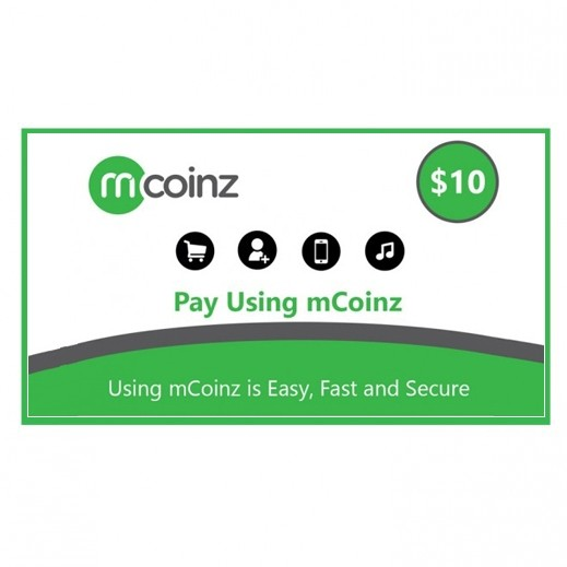 $10 mCoinz - Delivery by E-mail