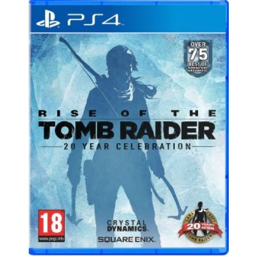 لعبة RISE OF THE TOMB RAIDER: 20 YEAR CELEBRATION لجهاز PS4 نظام PAL