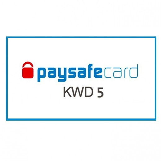 paysafecard 5 KWD - Delivery by E-mail