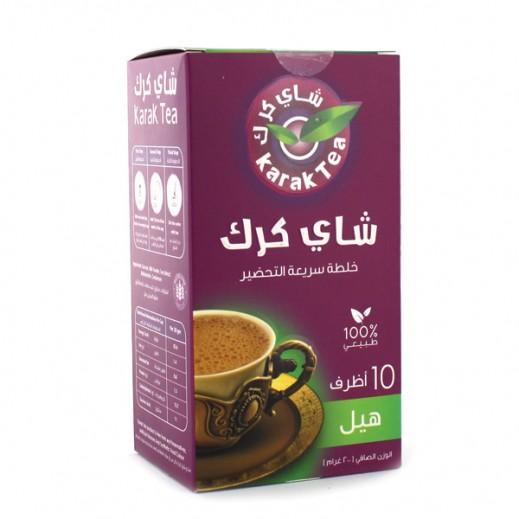 كرك - شاي بنكهة الهيل سريع التحضير 10 أكياس × 20 جم