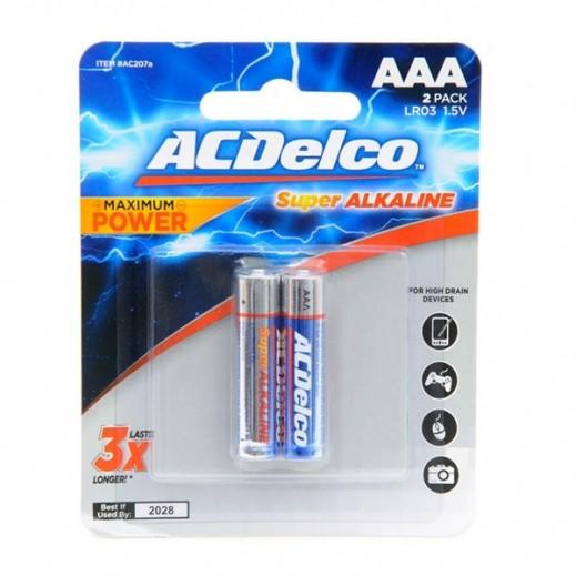 أي سي ديلكو –  بطارية ألكالين AAA عبوة 2 حبة