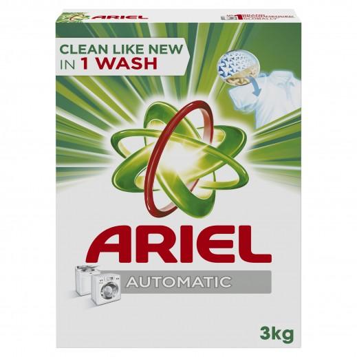 آريال - مسحوق تنظيف الغسيل للغسالات الأوتوماتيكية 3 كجم