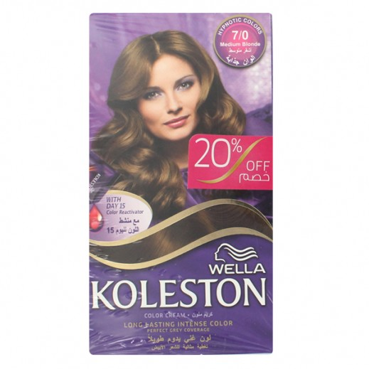 كولستون – كريم صبغ للشعر لون أشقر متوسط  غير لامع  307/0 ( عرض 20 % خصم )