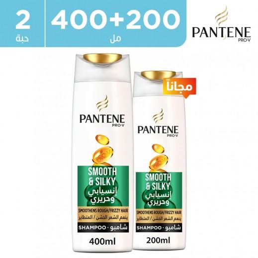 بانتين - شامبو برو في إنسيابي وحريري 400 مل + 200 مل مجاناً