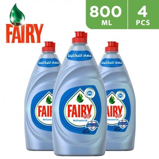 فيري بلاتينيوم - سائل غسيل الصحون المضاد للبكتريا 4 × 800 مل