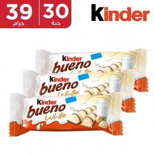 كيندر بوينو الأبيض 30 حبة × 39 جم