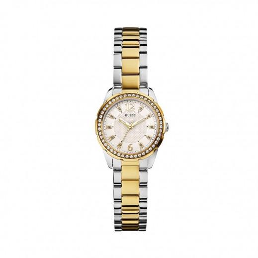 جيس - ديزاير ساعة للنساء استانلس لون ذهبي/فضى - يتم التوصيل بواسطة Beidoun
