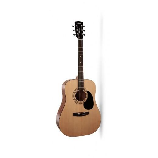 كورت - جيتار صوتي - بني فاتح - يتم التوصيل بواسطة Salmeen