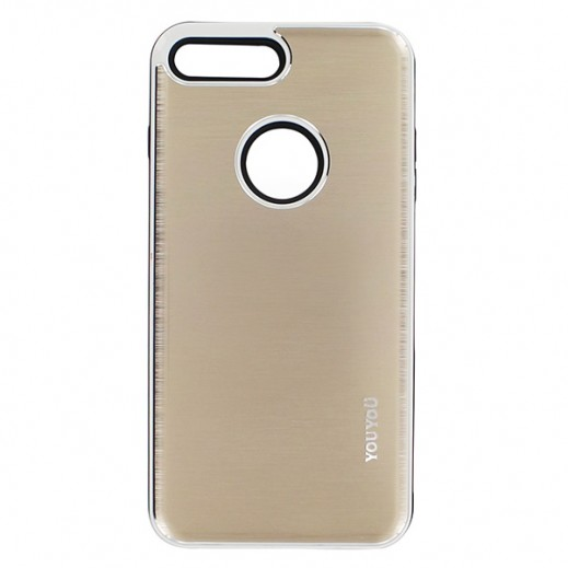 يويو – غطاء حماية خلفي لأي فون 7 Plus – ذهبي