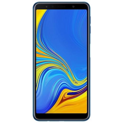 سامسونج – هاتف جلاكسي (A7 (2018 – ازرق - يتم التوصيل بواسطة شركة توصيل خلال يوم عمل واحد