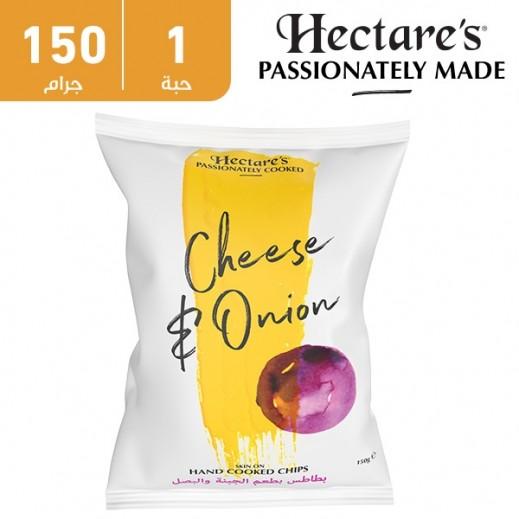 هيكترز - رقائق بطاطس بطعم الجبنة والبصل 150 جم