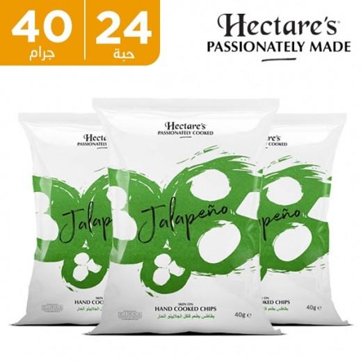 هيكترز - رقائق بطاطس بطعم فلفل الجلابينو الحار 24 × 40 جم