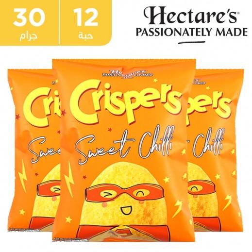 هيكترز - رقائق بطاطس خالية من الغلوتين بطعم الفلفل الحلو 12 × 30 جم